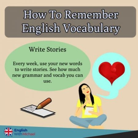 Remember English Vocab - Stories