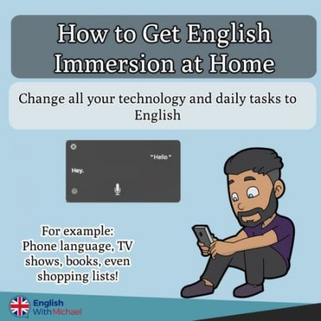Immersion at home