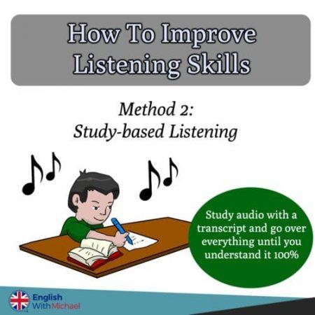 Improve listening skills advice