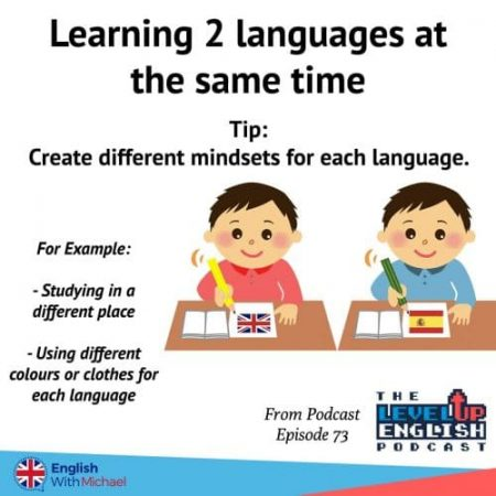 Learning 2 languages