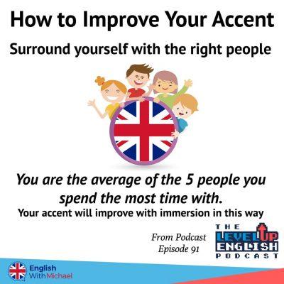 Improve English accent