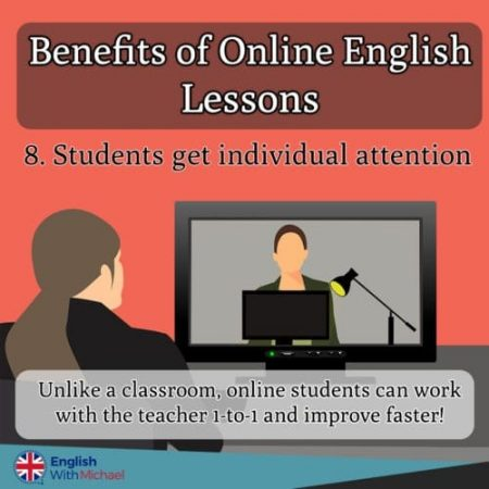 Benefits of Online English Lessons